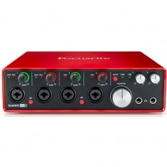 Focusrite Scarlett 18i8 (2nd Gen) Audio Interface
