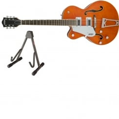 Gretsch G5420LH 2016 | Left Handed Electromatic Hollow Body | Orange Stain