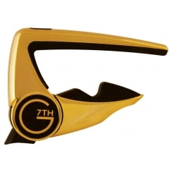 G7th Capo Acoustic / Electric Guitar Gold | 2797G