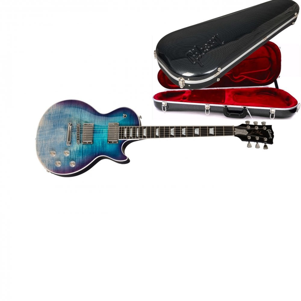gibson les paul standard hp 2019 blueberry fade. Black Bedroom Furniture Sets. Home Design Ideas