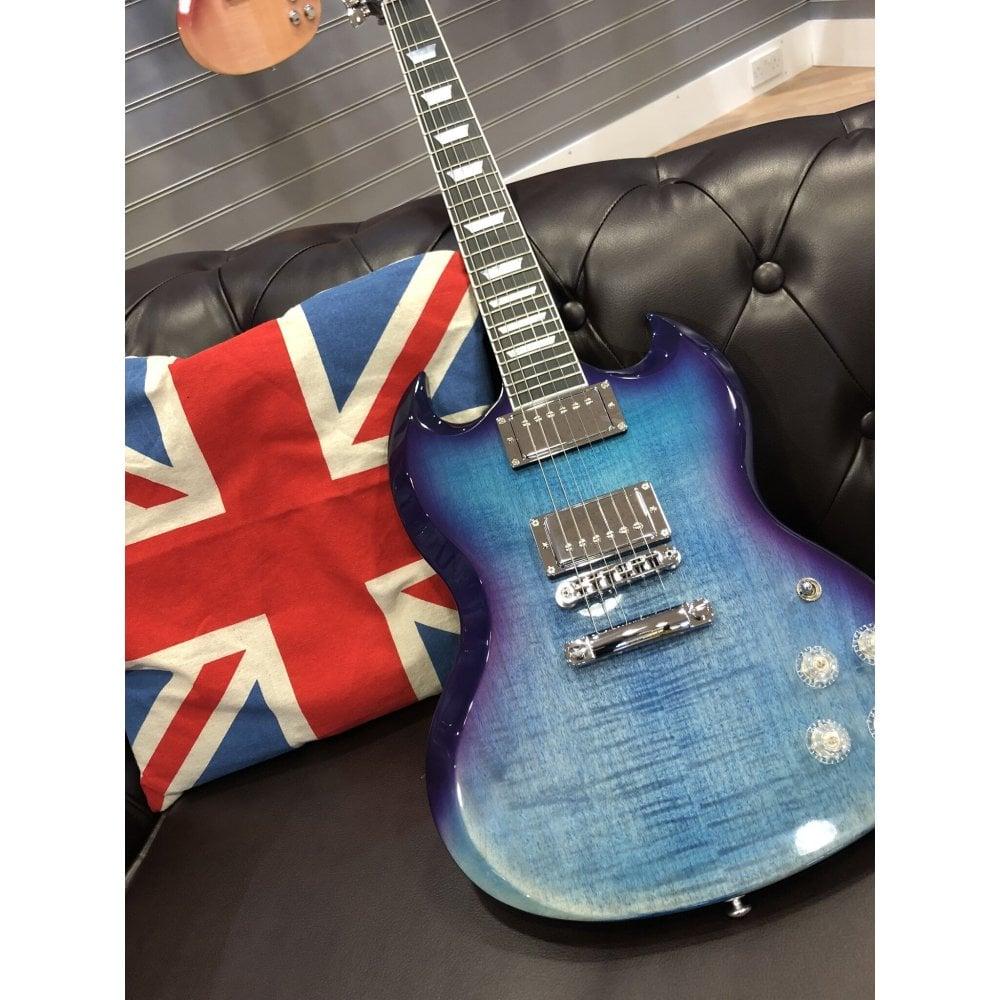 Gibson SG Standard HP 2019 Blueberry Fade