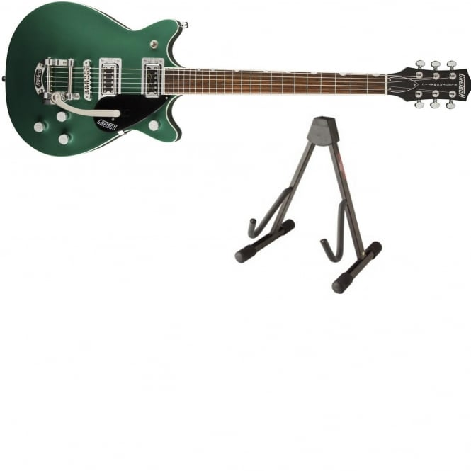 Gretsch G5655T-CB Center-Block Guitar | Green