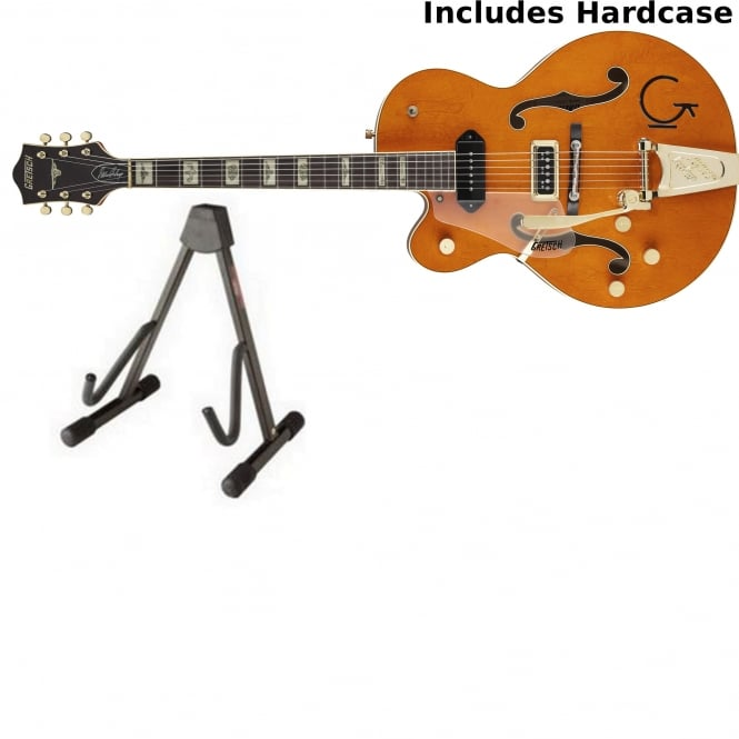 Gretsch G6120 Eddie Cochran Signature Hollow Body Left Handed | Orange