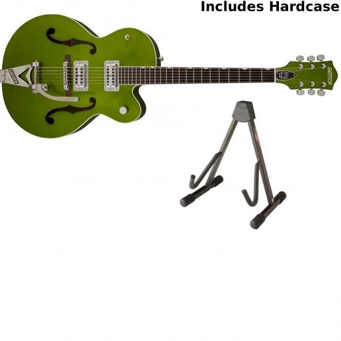 Gretsch G6120SH Brian Setzer Hot Rod Guitar | Green Sparkle