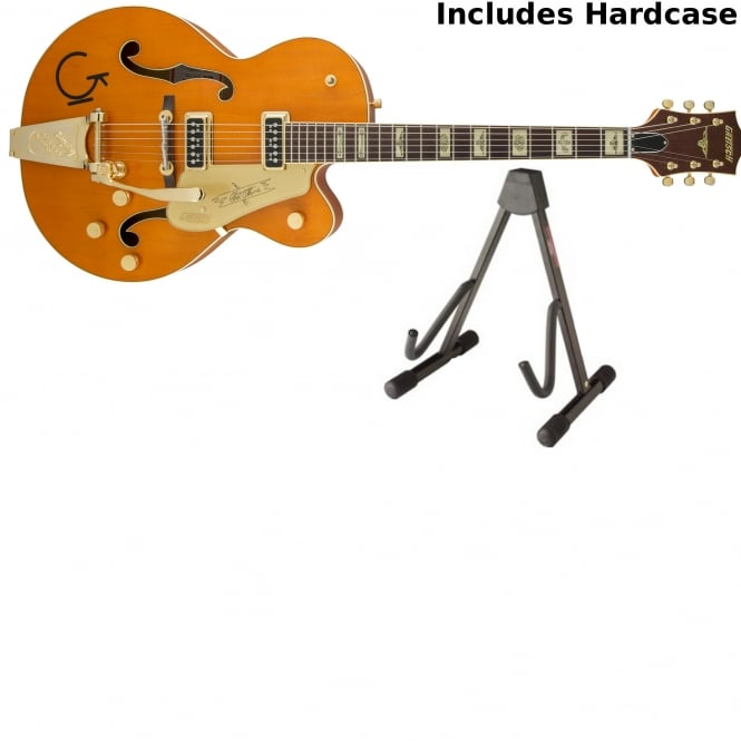 Gretsch G6120T-55 Vintage Select Edition '55 Chet Atkins® with Bigsby |Orange Stain