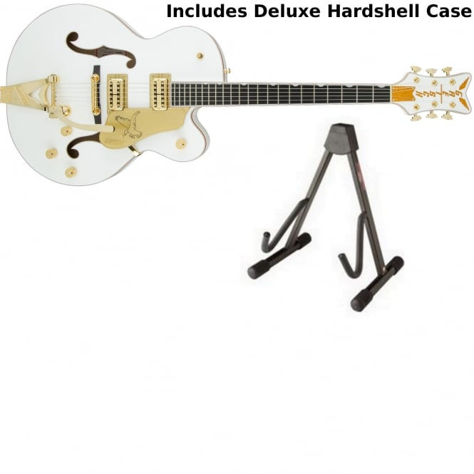 Gretsch G6136T White Players Edition Falcon Bigsby | White Finish