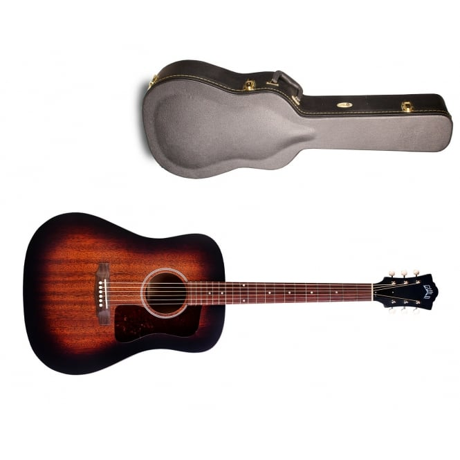 Guild D-20 Electro Acoustic Guitar | Antique Burst