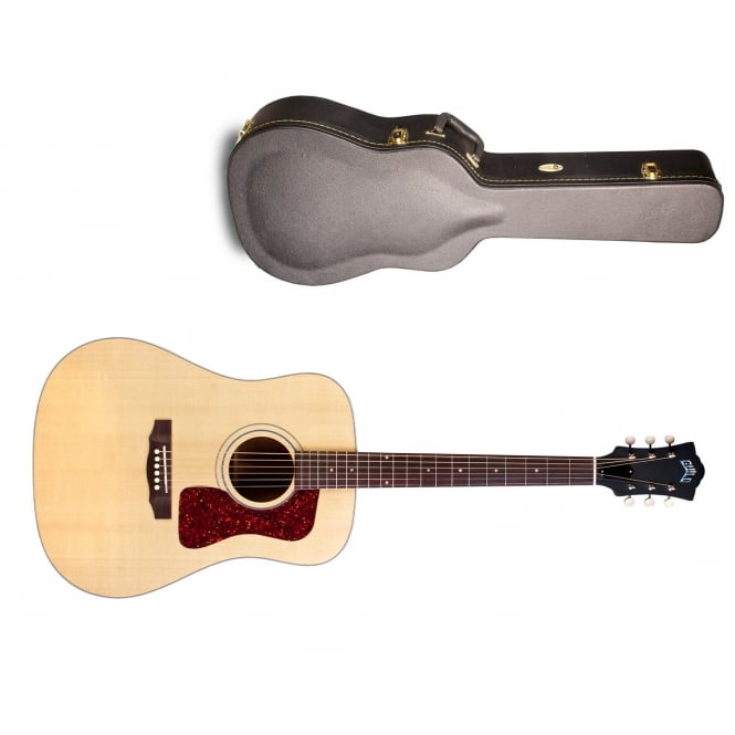 Guild D-40 Electro Acoustic Guitar | Natural