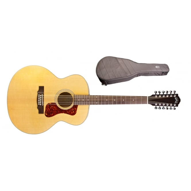 Guild F-2512E Maple 12 String Electro Acoustic Guitar | Natural