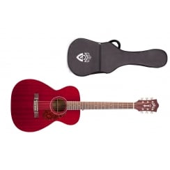 Guild M-120E Electro Acoustic Guitar | Cherry Red