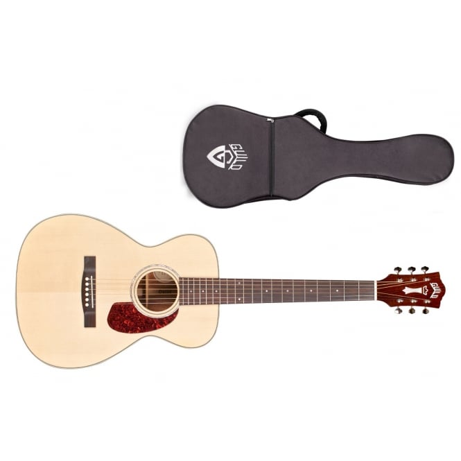 Guild M-140 Acoustic Guitar | Natural