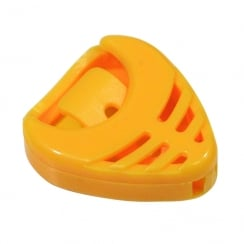 Johnny Brook Heart Shaped Guitar Pick Holder (Colour Yellow)