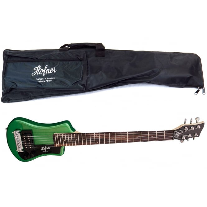 Hofner HCT Shorty Guitar - Green | HCTSHCGO