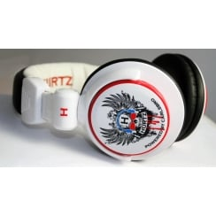 HURTZ DJ Style Phones For Him White