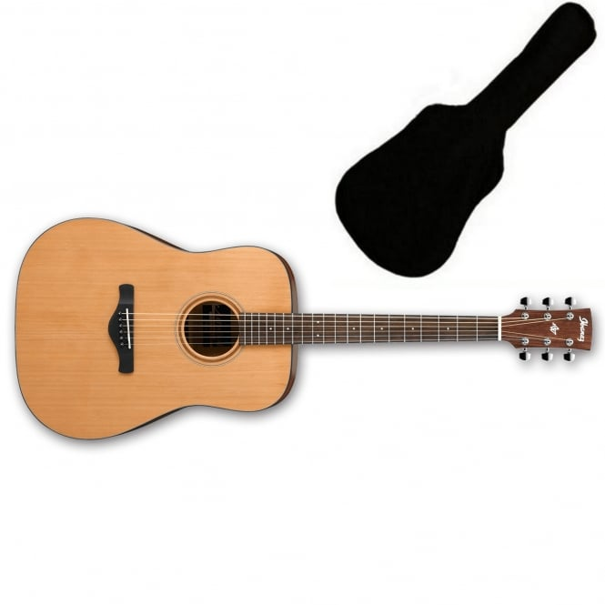 Ibanez AW65 Dreadnought Acoustic Guitar | Low Gloss