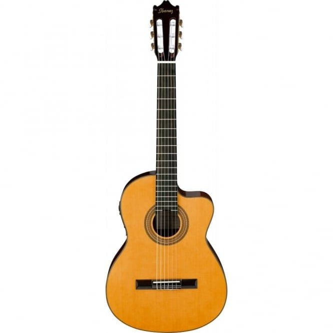 Ibanez GA6CE-AM CLASSICAL ELECTRO ACOUSTIC, Cutaway, Spruce Top, Mahogany Back & Sides, Amber