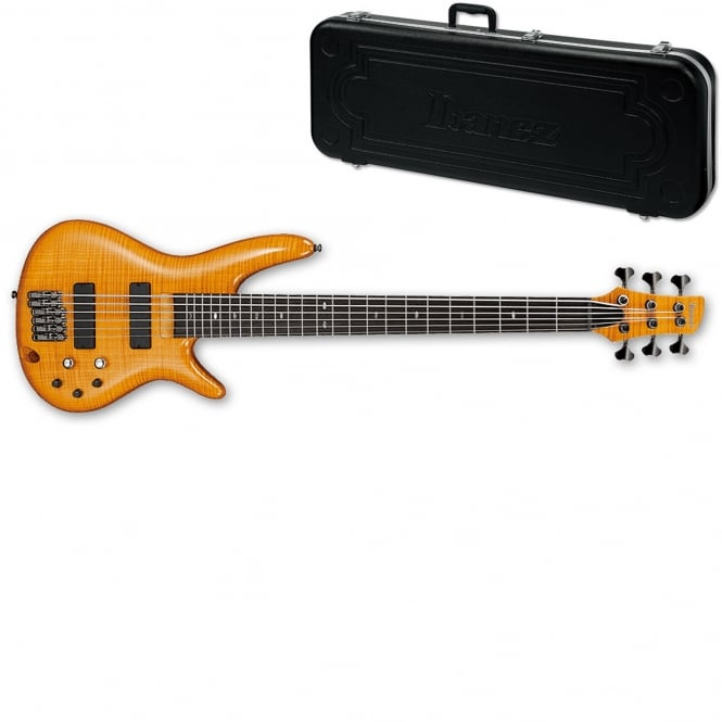 Ibanez GVB36 Gerald Veasley Signature 6-String Bass Guitar | Amber