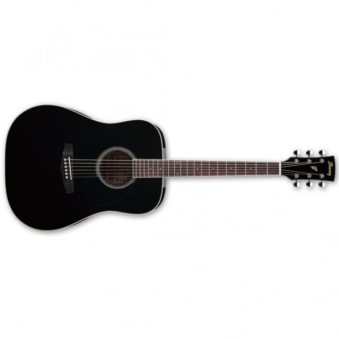 Ibanez PF15-BK PF ACOUSTIC, Dreadnought, Spruce Top, Mahogany back & sides, Black
