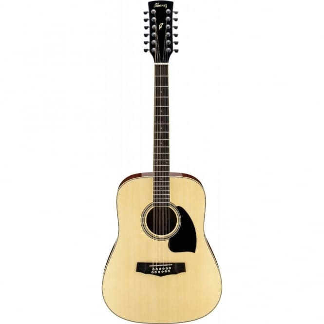 Ibanez PF1512-NT PF ACOUSTIC, 12 string, Dreadnought, Spruce Top, Mahogany back & sides, Natural