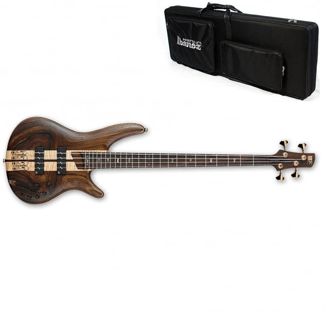 Ibanez SR1800-NTF Bass Guitar, Natural Flat