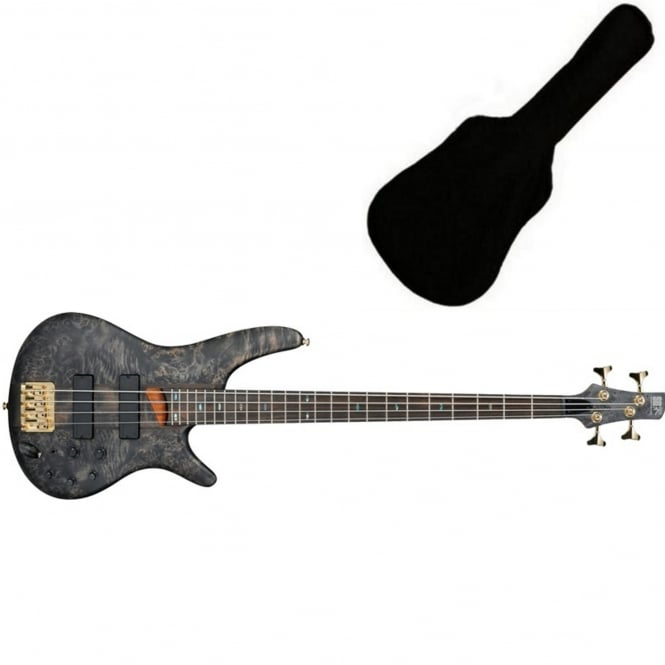 Ibanez SR800-BIF Bass | Black Ice Flat