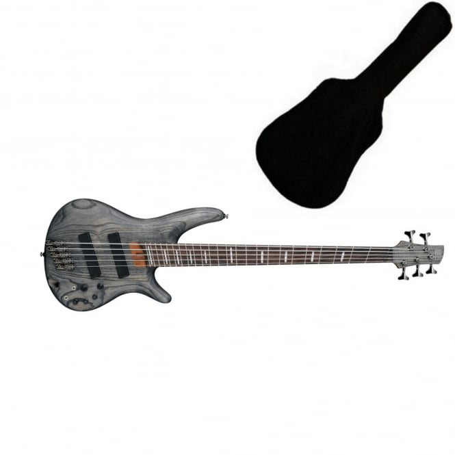 Ibanez SRFF805 Fanned Fret 5-String Bass | Black Stain