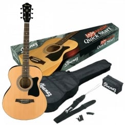 Ibanez VC50NJP Grand Concert Acoustic Guitar JamPack |Natural