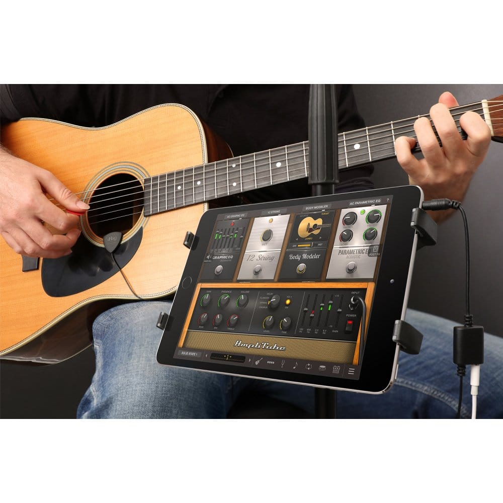 iphone guitar interface irig acoustic guitar interface for iphone mac 11905