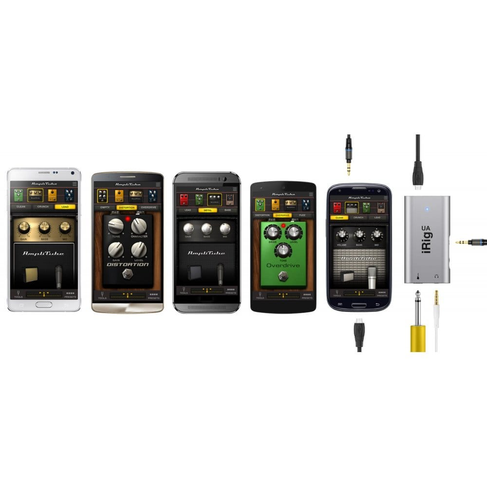 ik multimedia irig ua audio interface for android from. Black Bedroom Furniture Sets. Home Design Ideas