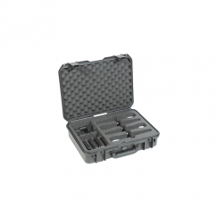 SKB Injection molded Case for (4) Wireless Mic Systems
