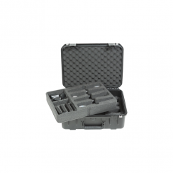 SKB Injection molded Case for (8) Wireless Mic Systems