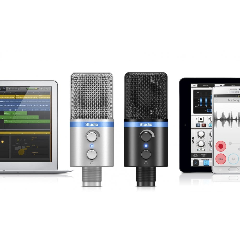 Irig mic studio silver with uk mainland delivery for Salon multimedia