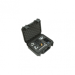 SKB iSeries Injection Molded Waterproof Case for Zoom H6 Recorder w/Shotgun mic slot