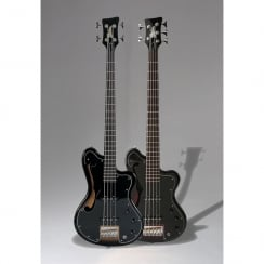 ITALIA IMOLA 5 BASS - BLACK & GIG BAG