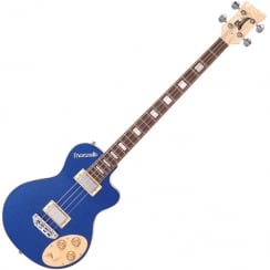 ITALIA MARANELLO CLASSIC BASS - SPARKLE BLUE & GIG BAG