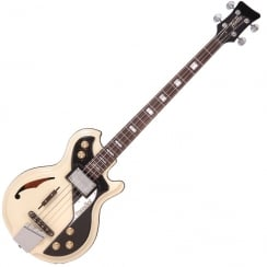 ITALIA MONDIAL CLASSIC BASS - CREAM & GIG BAG