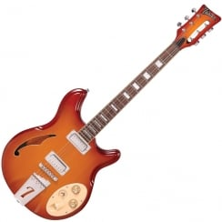 ITALIA RIMINI 6 - HONEY SUNBURST AND GIG BAG