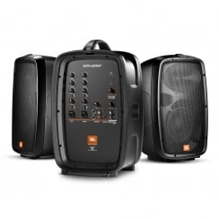 JBL EON206P Portable PA System with Detachable Powered Mixer