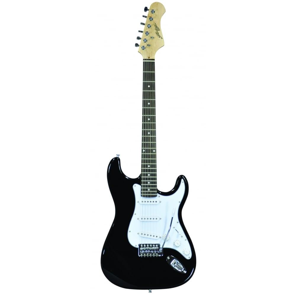 Johnny Brook Black Standard Electric Guitar