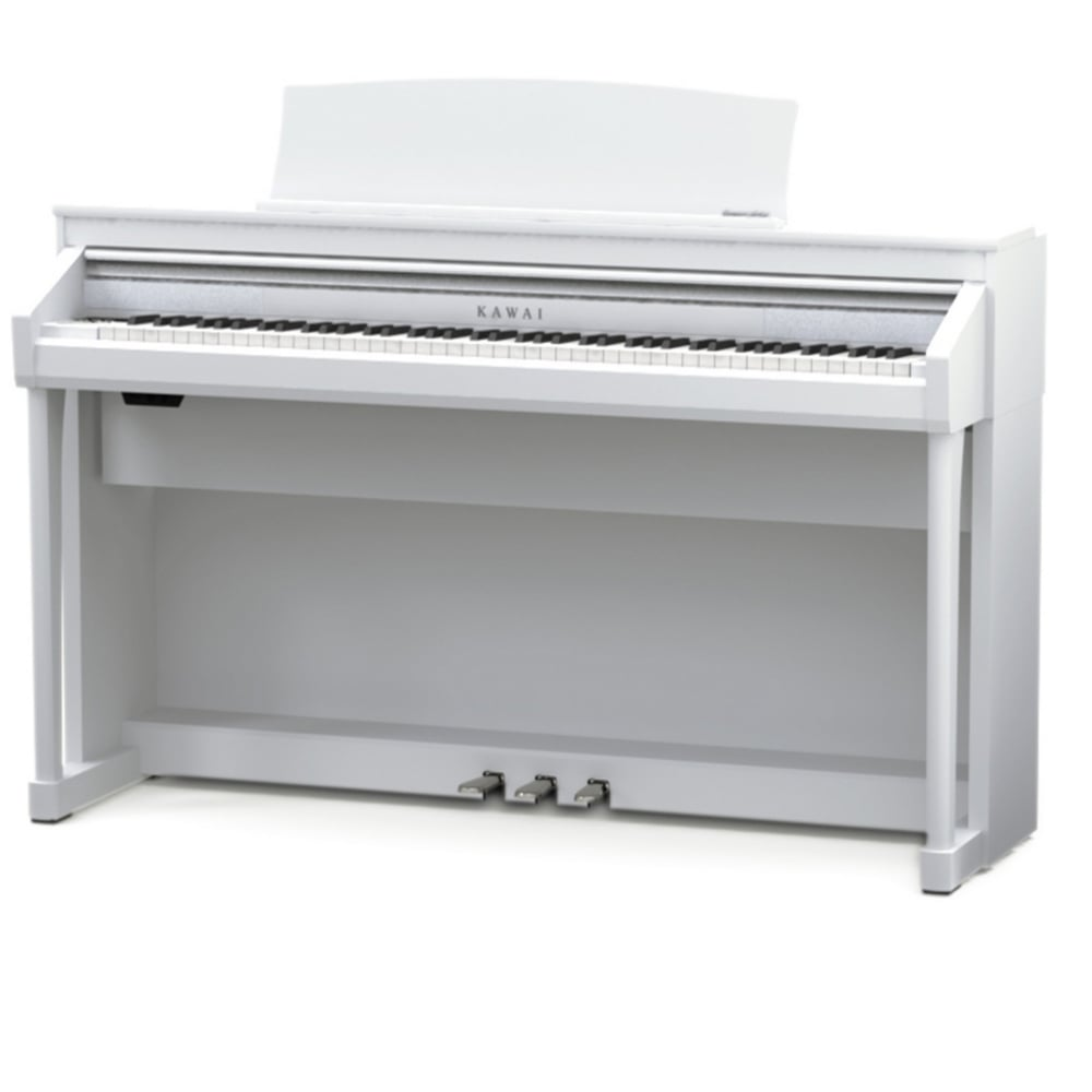 kawai ca67 digital piano white from rimmers music. Black Bedroom Furniture Sets. Home Design Ideas