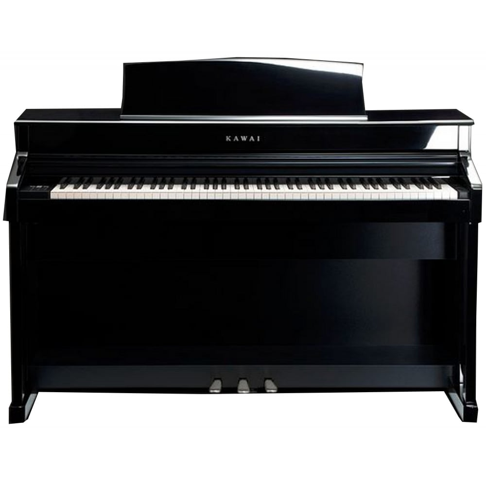 kawai cs 8 digital piano polished ebony from rimmers music. Black Bedroom Furniture Sets. Home Design Ideas
