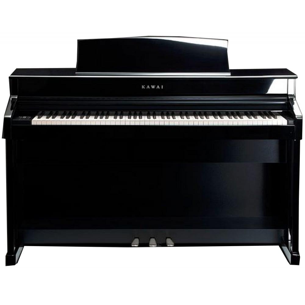 kawai cs 8 digital piano polished ebony from rimmers music. Black Bedroom Furniture Sets. Home Design Ideas