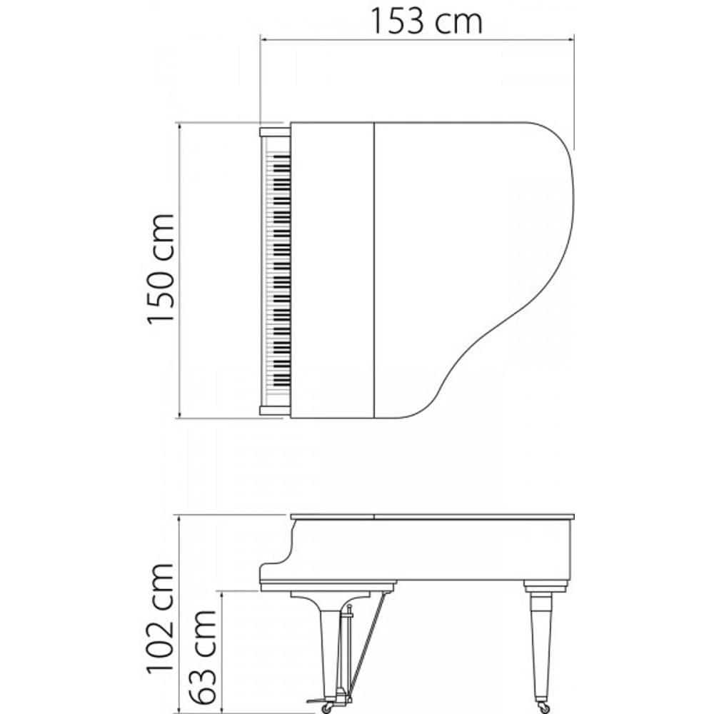 Kawai GL-10 Grand Piano White