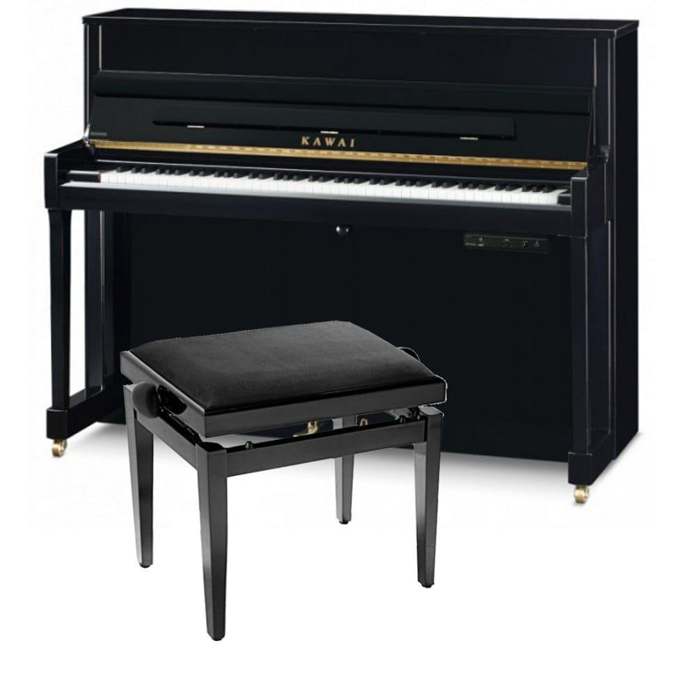 Kawai Upright Pianos >> Kawai K200 Atx3 Upright Piano Black
