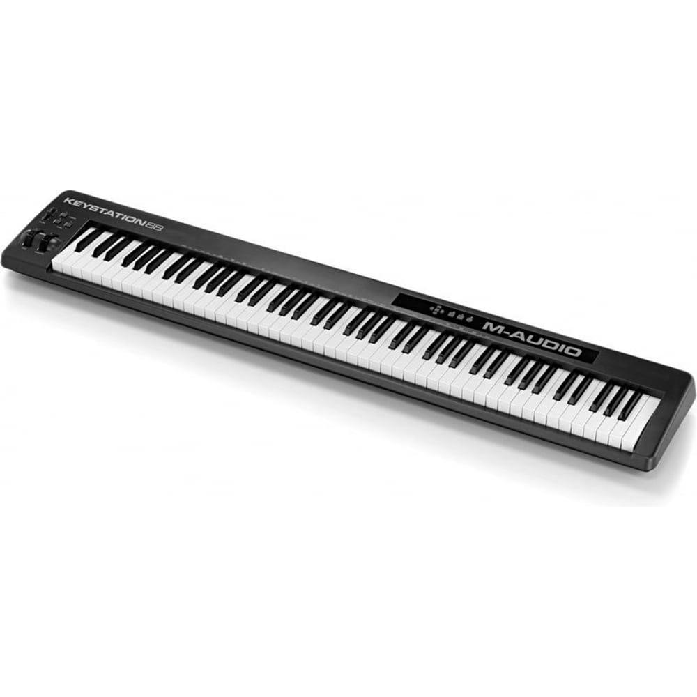 m audio keystation 88 midi controller from rimmers music. Black Bedroom Furniture Sets. Home Design Ideas