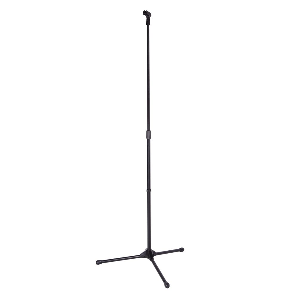 kinsman straight tripod microphone stand black from rimmers music. Black Bedroom Furniture Sets. Home Design Ideas