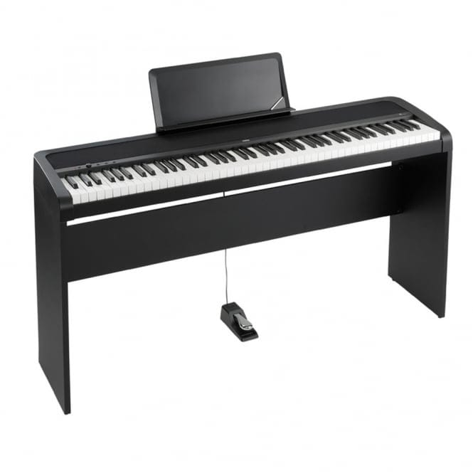 Korg B1 Digital Piano with Stand | Black