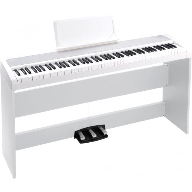 Korg B1SP Digital Piano with Stand | White