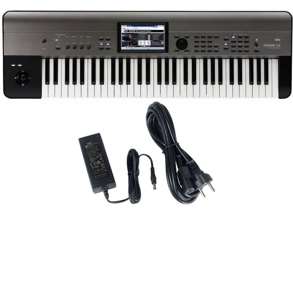 Korg Krome EX 61 Key Touch Screen Workstation Synth