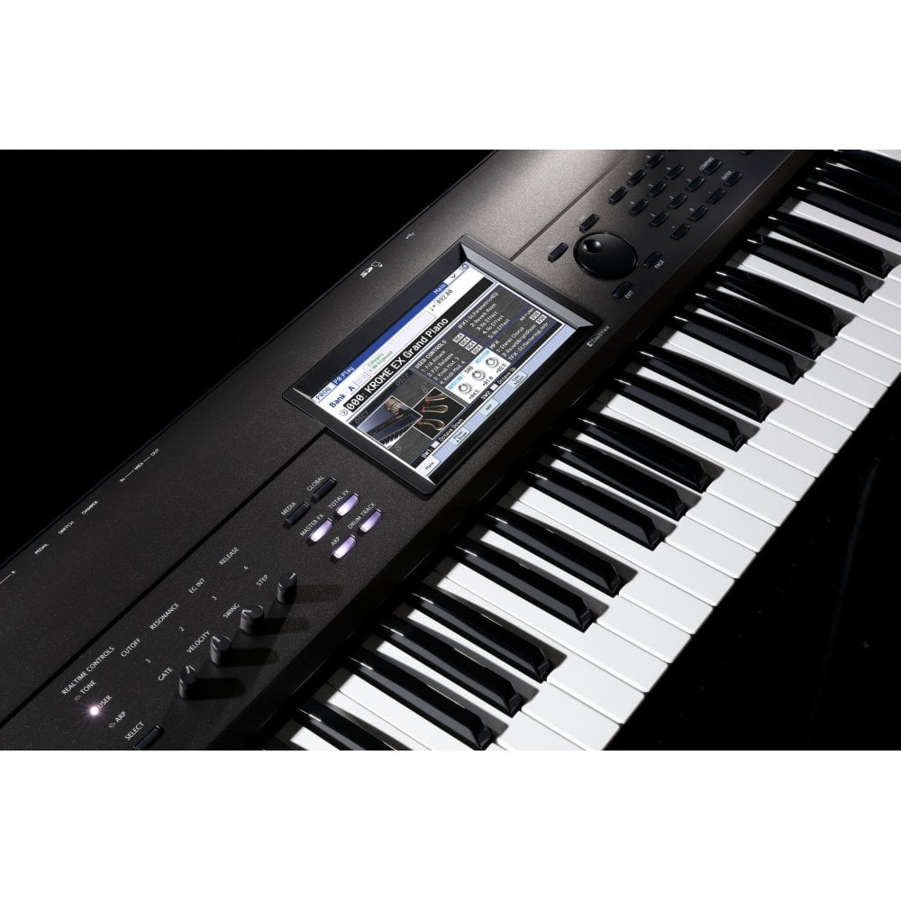 Korg Krome EX 88 Key Touch Screen Workstation Synth